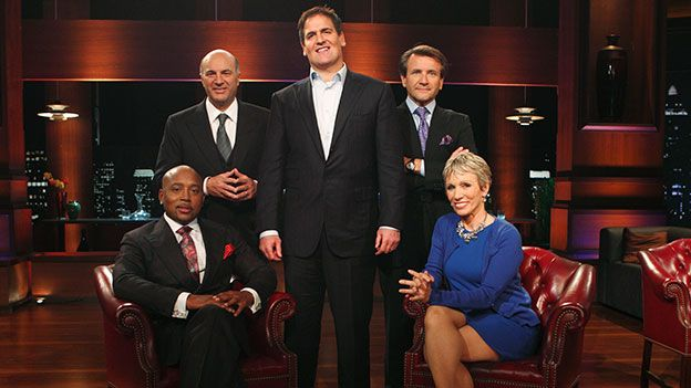 TOUCH this image: Mortgage broker pans for gold on Shark Tank literally, SP... by Mark Bordcosh