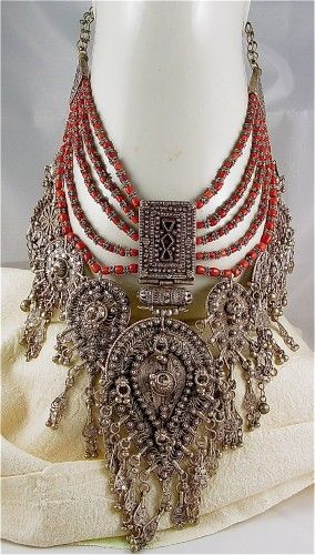 Amulet Wedding Necklace Yemen.