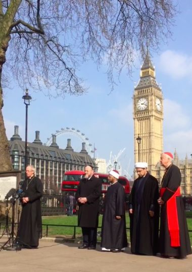 Terror will never drive us apart, pledge Archbishops, Imams and Chief Rabbi | Christian News on Christian Today
