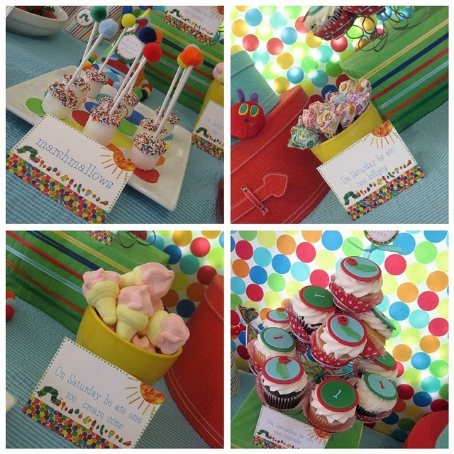 This blog has a TON of VHC ideas!!!: 1St Birthday Parties, Party'S, Hungry Caterpillar Party, Caterpillar Birthday, Very Hungry Caterpillar, 1St Birthdays, Party Ideas, Birthday Ideas, Birthday Party