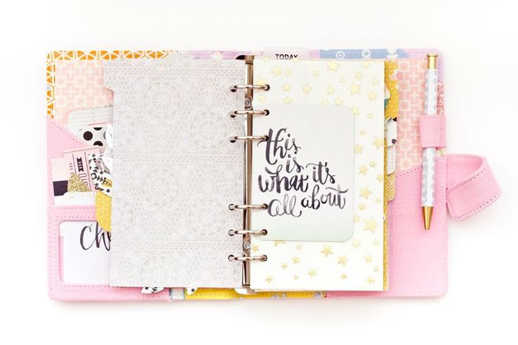 The Cutest Pink Planner!