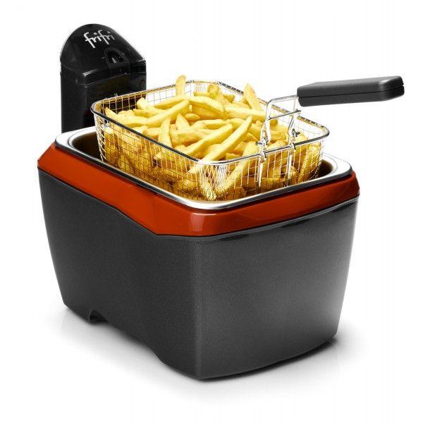 Friteuse Frifri 905RR Friteuse pratique grâce à son format rectangulaire, la friteuse Frifri 905RR offre également un entretien facile (100% démontable).