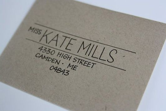 Exceptional Envelopes: How to Make your Wedding Stationery Next Level! / centred text