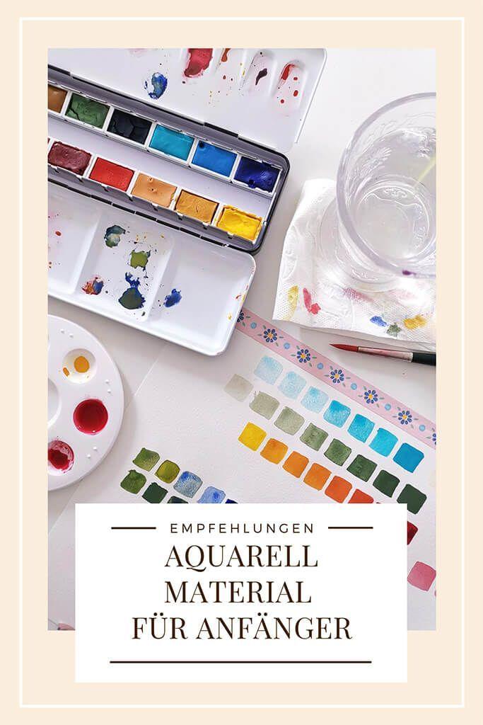 Aquarell Material Fur Anfanger Das Brauchst Du Wirklich