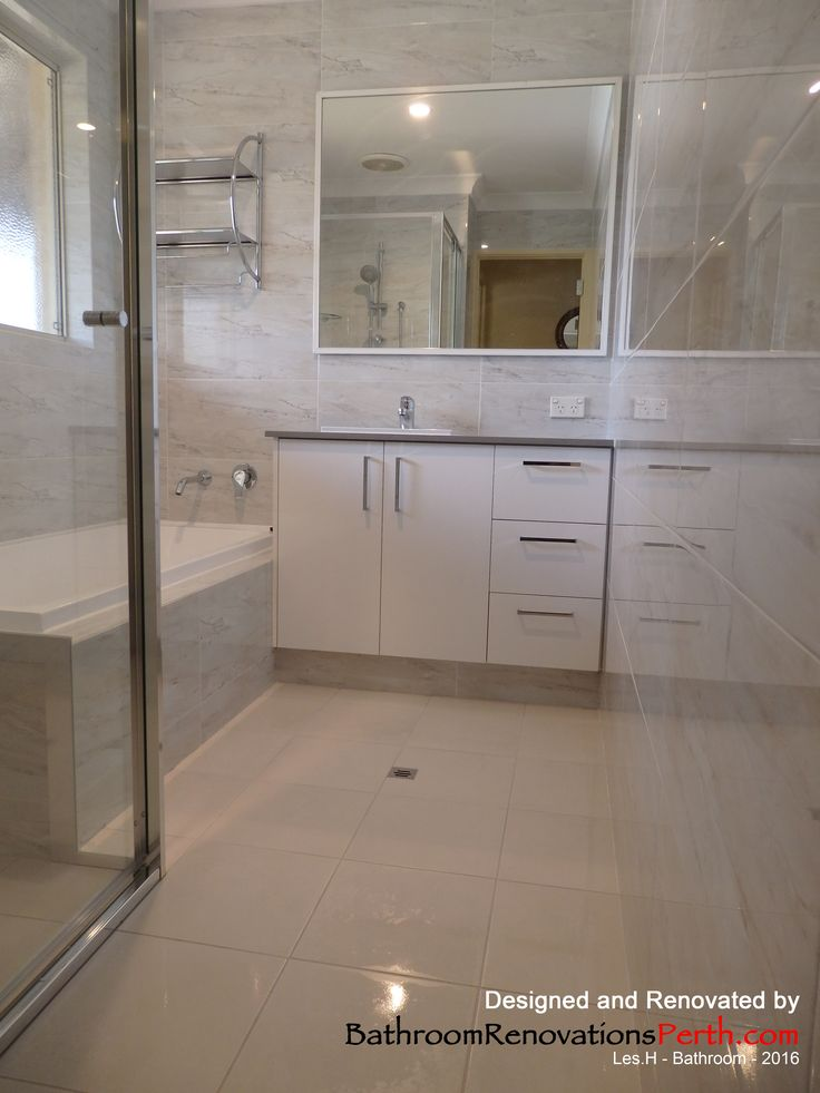 2016 Bathroom: designed and renovated by Bathroom Renovations Perth   www.bathroomrenovationsperth.com  https://www.facebook.com/bathroomrenovationperth