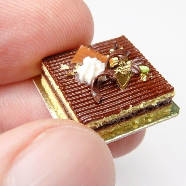 1//12 Dollhouse Miniature Cake Dessert Food Miniature Napoleon Cake