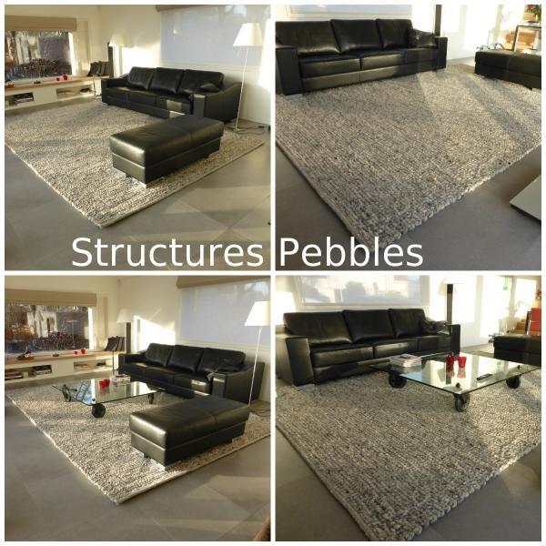 Vloerkleed Perletta Structures Pebbles 033 http://bit.ly/1EEbjVg rug