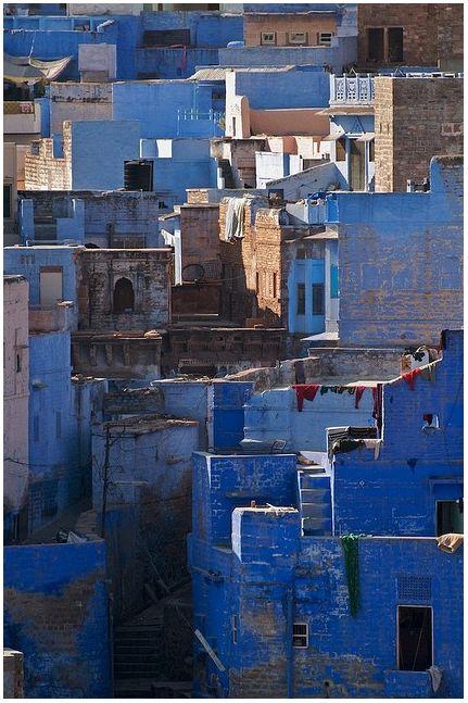 The Blue City, Jodhpur, India.