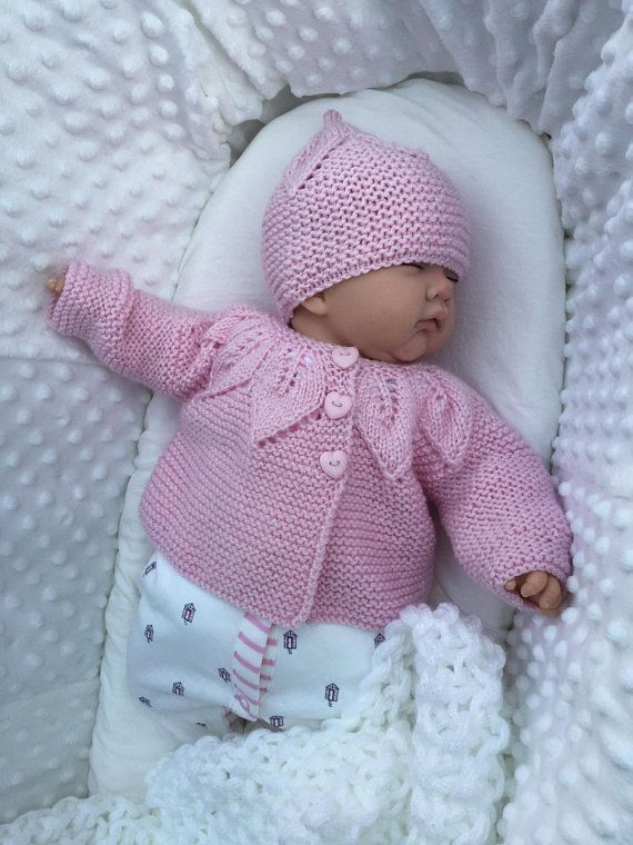 480bbce5a0c9 Hand Knitted Baby Set