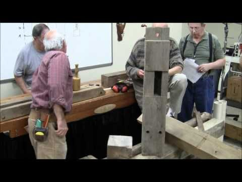 ▶ 04-30-11 Timber Framing Construction by Gerry Jones and Mike Goldberg (01h54m) - YouTube