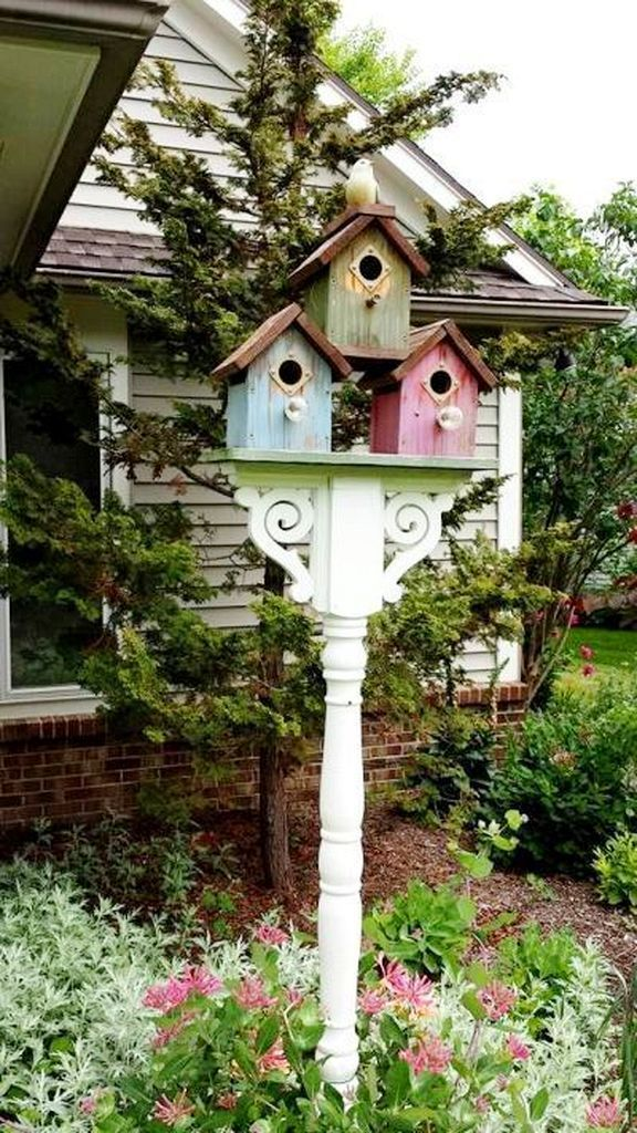 30 Creative Bird House Ideas For Beautiful