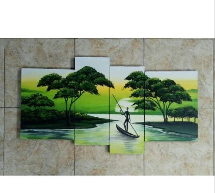 Terkeren 30 Contoh Gambar Pemandangan Alam Manusia Jual Original Lukisan Pemandangan Alam Manusia Perahu Jakarta Pusat Dis Di 2020 Pemandangan Gambar Ilustrasi Alam