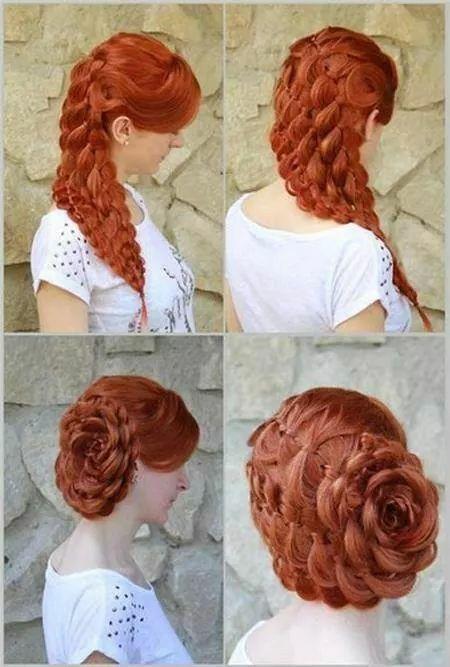 Oltre 1000 idee su Jora Hairstyle su Pinterest Treccia A Corona ...