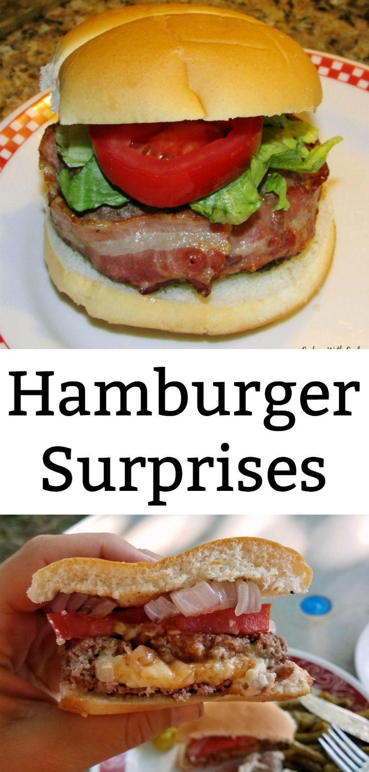 These hamburger surprises have been in our family for generations! They are stuffed with goodness and wrapped with bacon. Light the grill and get ready to BBQ!