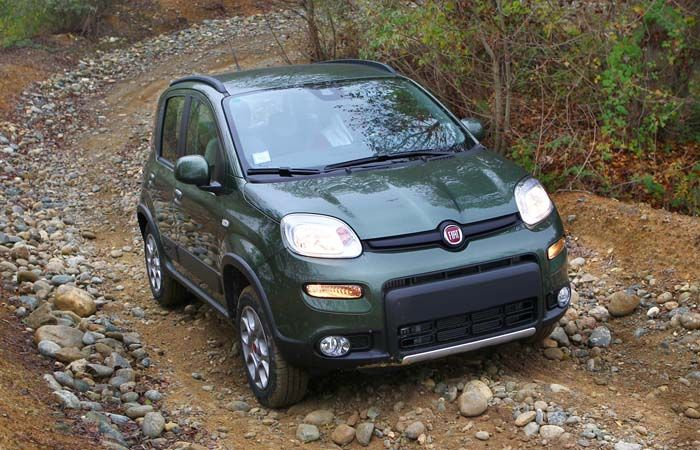 2018 Fiat Panda overview
