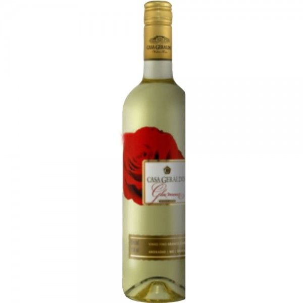 Vinho Branco Suave Fino Glamour Casa Geraldo Vinho Branco Vinho