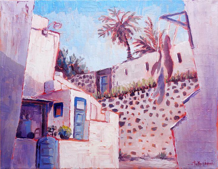 Vothonas - Oil on canvas, 40cm x 60cm / Βόθωνας - Λάδι, καμβάς, 40cm x 60cm