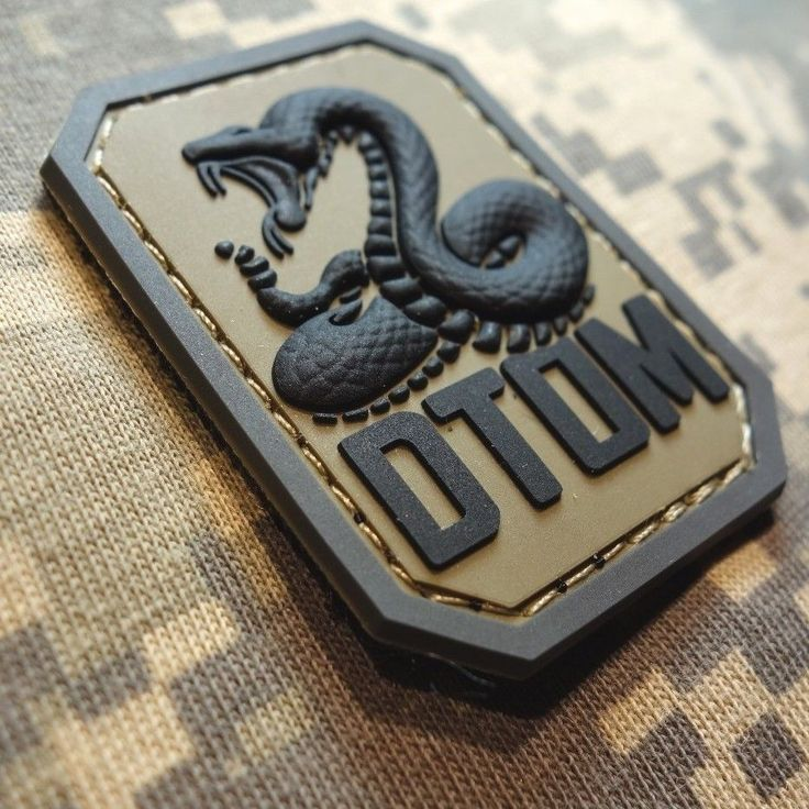 Dtom Don'T Tread on Me PVC Tea Party Snake Army Morale Tactical ACU Velcro Patch | eBay
