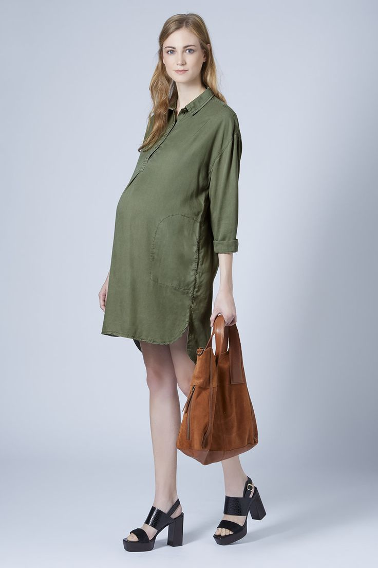 77 best maternity chic images on pinterest asos maternity maternity tencel shirt dress clothing topshop ombrellifo Gallery