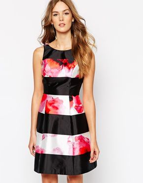 Coast Milana dress in floral stripe - asos.com - see more ideas at http