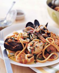 75 best cooking with clams images on pinterest seafood recipes seafood pasta with tuscan hot oil forumfinder Gallery
