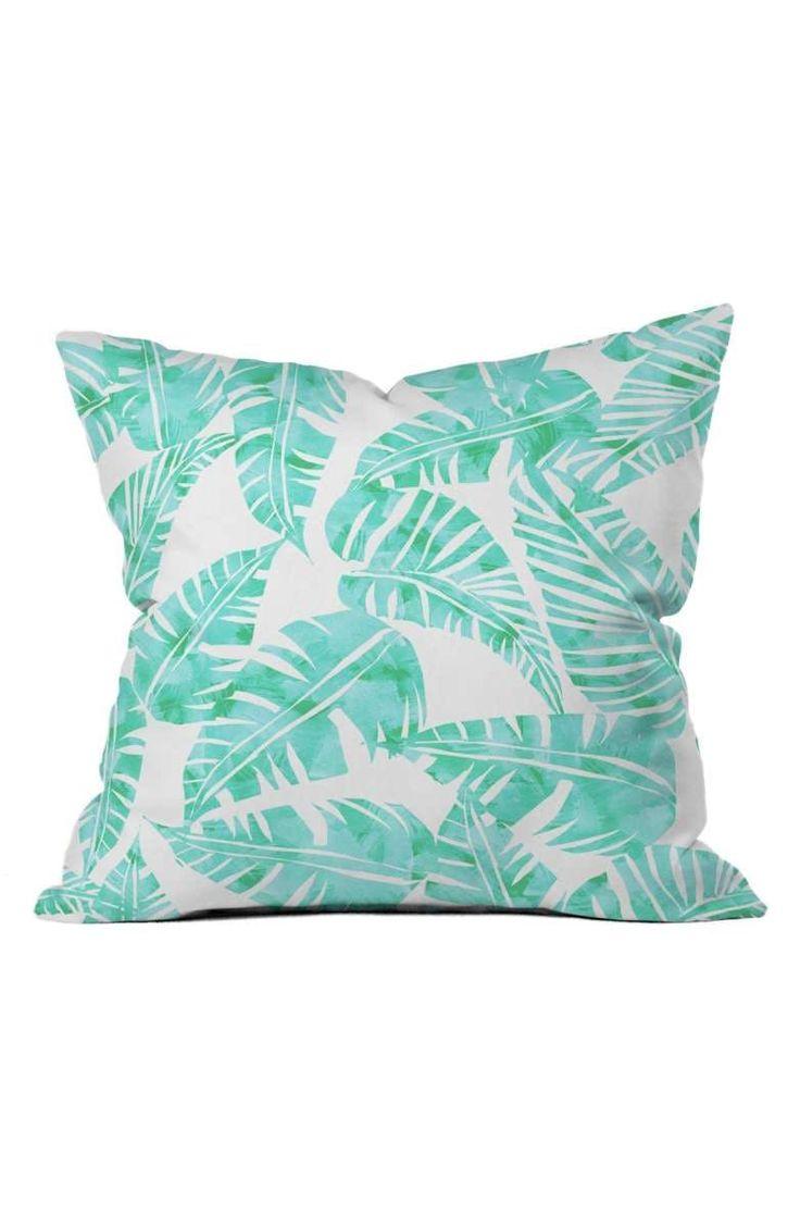 Deny Designs Lani Kai Leaf Pillow, Sale: $32.90; After Sale: $45.00