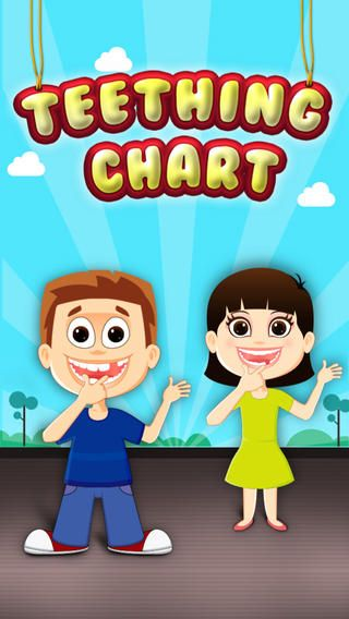 Check out our App Review for Teething Chart for iPhone/iPad (an app which highlights the transition from baby teeth to adult teeth) here on GiveMeApp