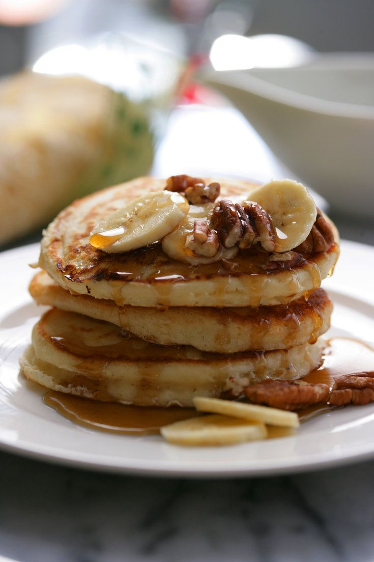 how to make simple pancakes without eggs and baking powder