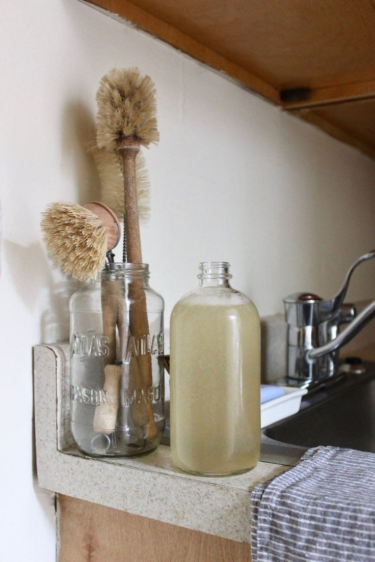 Bulk Refillable Dish Soap By Mail For A Zero Waste Kitchen