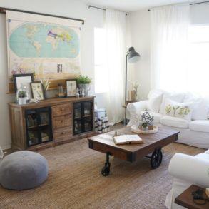 Jak ukryć telewizor w salonie? Ukryty telewizor w salonie - 40 inspiracji
