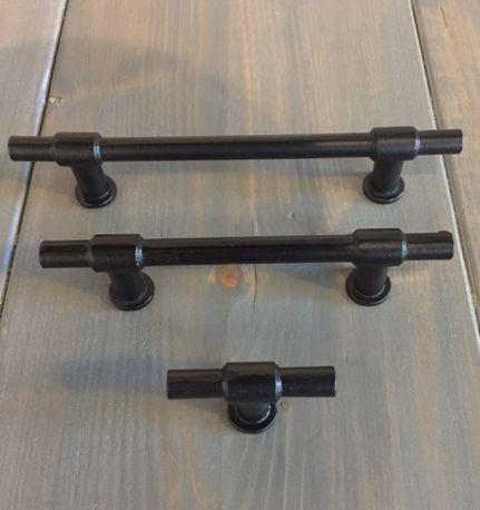 Mooie meubelgrepen in 3 maten 96, 128 mm en enkel