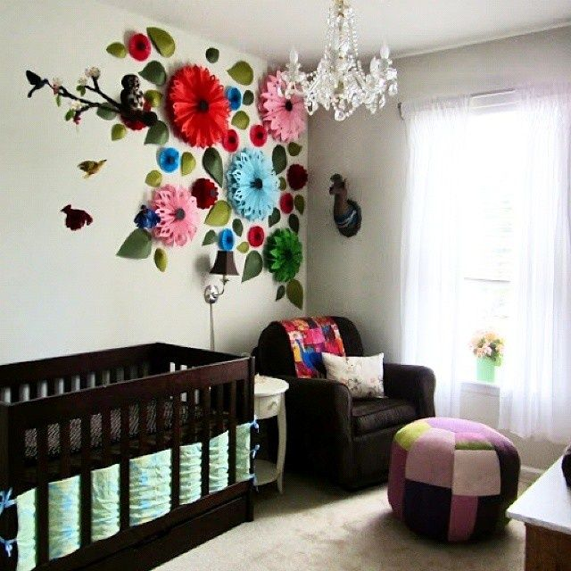 Креативный декор интерьера в детской (подборка) / Детская комната / Своими руками - выкройки, переделка одежды, декор интерьера своими руками - от ВТОРАЯ УЛИЦА