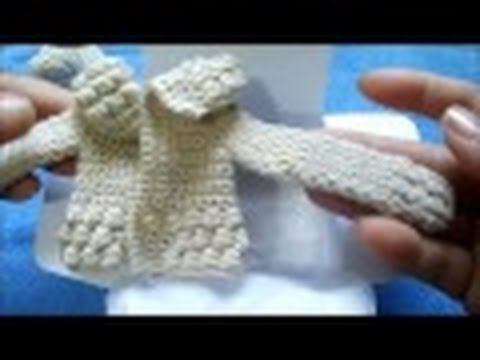 sombrero tejido a crochet para muñeca - YouTube