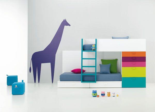 .: Kids Beds, Colors Azul, Archie Kids, Baby 09, Kid Beds, Color, Kids Corner, Kids Decor, Kids Rooms