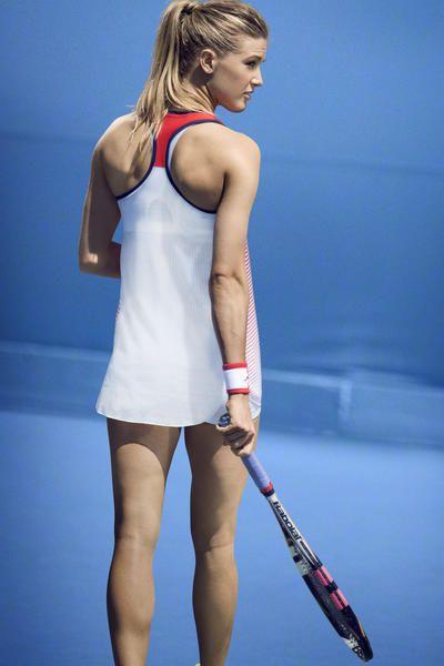 Genie Bouchard Australian Open Outfit 2016