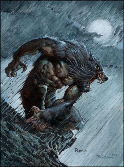 Werewolf Art by Mike Ploog.