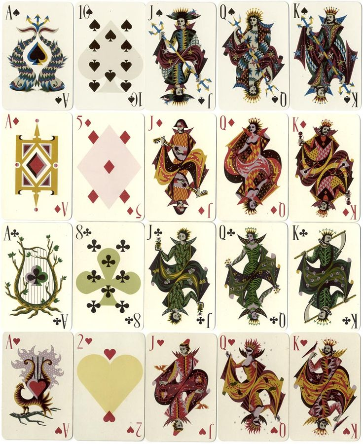 31 best Playing Cards Designs | Kings, Queens, Spades, and Aces ...