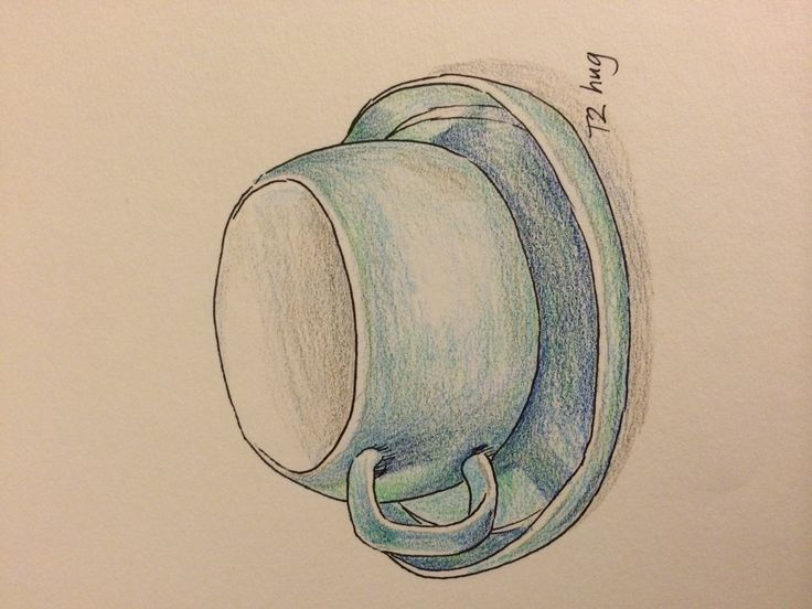 A T2 cup and saucer