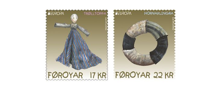 COLLECTORZPEDIA: Faroe Islands Stamps Europa 2015 - Old Toys