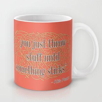 Design Spaghetti Mug by Nameless Shame - $15.00