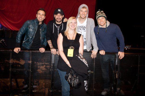 The Backstreet Boys!