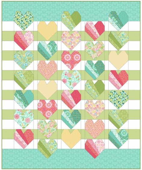 Have a Heart - A Free Quilt Pattern