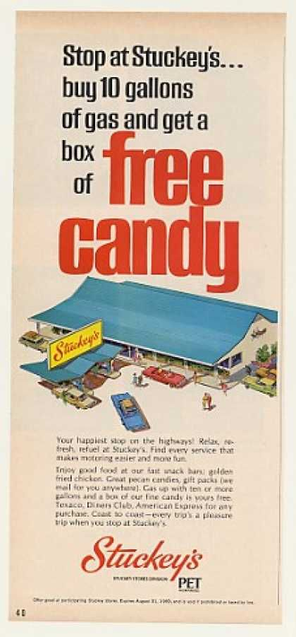 Stuckey's Highway Store Free Candy (1969)   ...Please save this pin.  Because for vintage collectibles - Click on the following link!.. http://www.ebay.com/usr/prestige_online