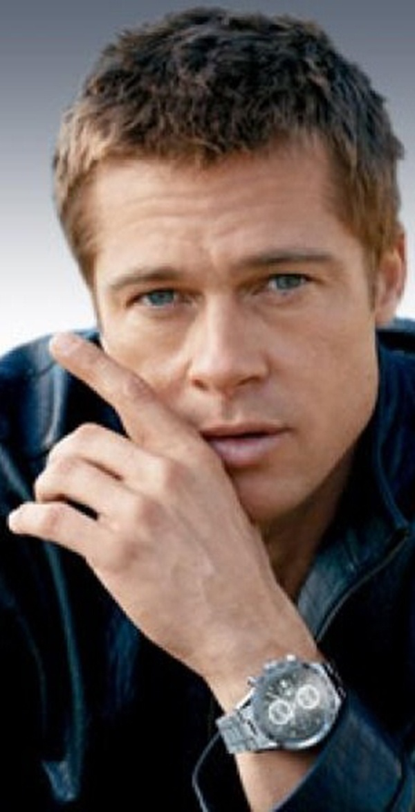 Brad Pitt Best looking dad on the planet
