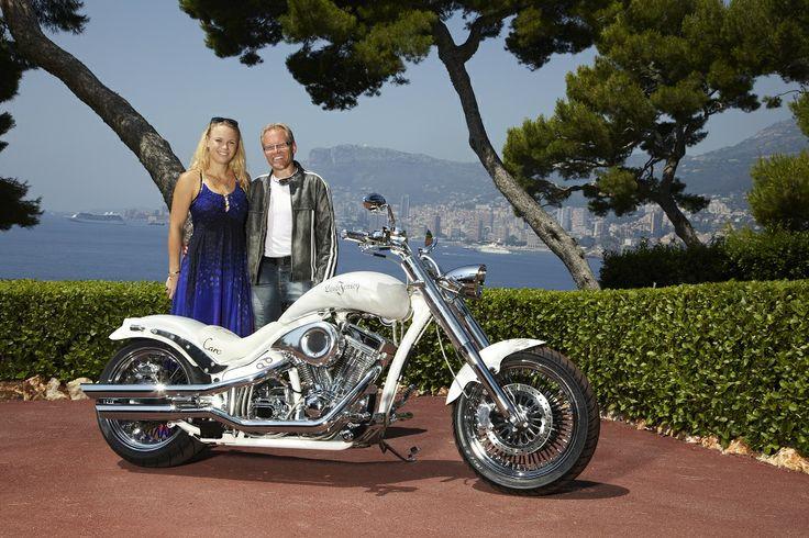 Caroline Wozniacki and Uffe Lauge Jensen