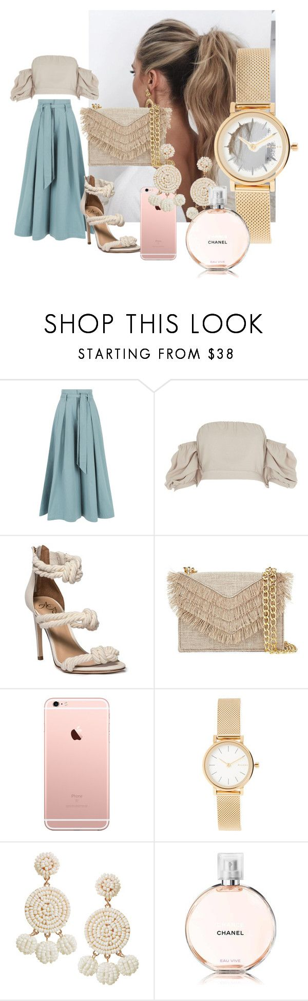 """""""Untitled #16"""" by androsales24 on Polyvore featuring Temperley London, Love Couture, River Island, Cynthia Rowley, Skagen, Humble Chic and Chanel"""