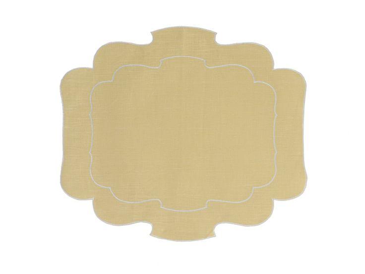 Tovaglietta - Placemat Parentesi 800 - 003 yellow