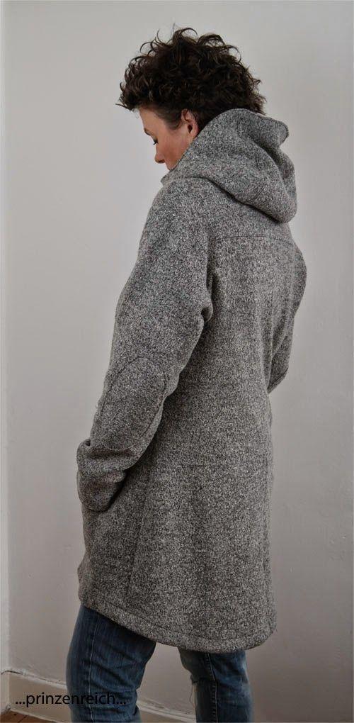 72 besten Nähen- Mäntel und Jacken Bilder auf Pinterest | Jacke ...