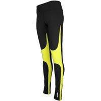 ASICS Striped Running Tight - Womens - Black/Wow Lime http://beso.ly/rd/4879628086?a=556239=1