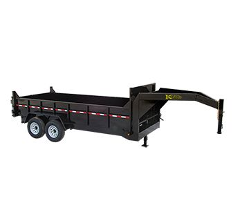 heavy duty gooseneck dump trailer dump trailers. Black Bedroom Furniture Sets. Home Design Ideas